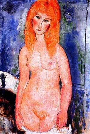 Nude | Amedeo Modigliani | Oil Painting