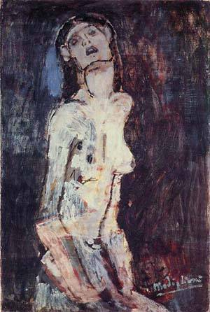 Nude1 | Amedeo Modigliani | Oil Painting
