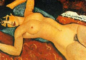 Nude Sdraiato | Amedeo Modigliani | Oil Painting