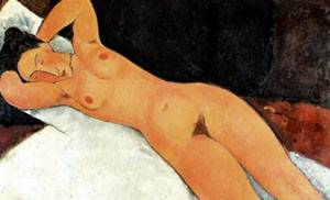 Nude With Necklace | Amedeo Modigliani | Oil Painting