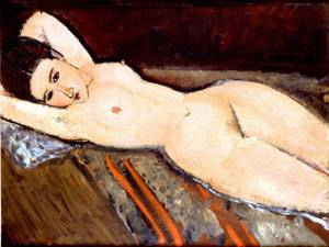 Reclining Nude1 | Amedeo Modigliani | Oil Painting