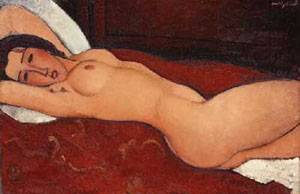 Reclining Nude2 | Amedeo Modigliani | Oil Painting