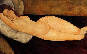 Reclining Nude3 | Amedeo Modigliani | Oil Painting
