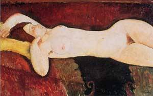 The Large Nude4 | Amedeo Modigliani | Oil Painting