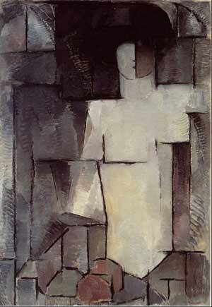 The Large Nude | Mondrian Piet | Oil Painting