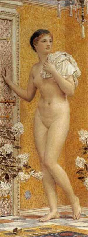 The Yellow Room | Albert Moore | Oil Painting
