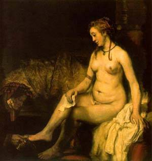 Bathsheba With King David's Letter | Rembrandt Van Rijn | Oil Painting