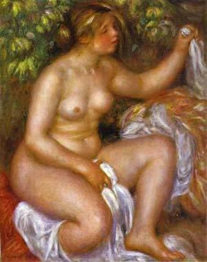 After The Bath1   Pierre Auguste Renoir   Oil Painting