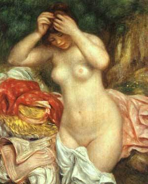 Bather1 | Pierre Auguste Renoir | Oil Painting