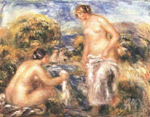 Bathers | Pierre Auguste Renoir | Oil Painting