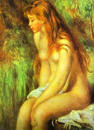 Seated Bather2 | Pierre Auguste Renoir | Oil Painting