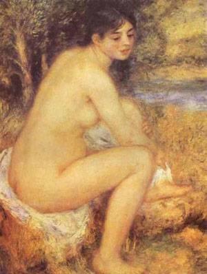 Seated Girl | Pierre Auguste Renoir | Oil Painting