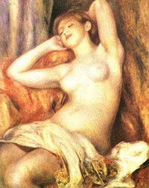 Sleeping Bather | Pierre Auguste Renoir | Oil Painting
