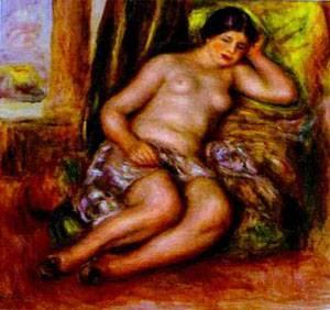 Sleeping Odalisque | Pierre Auguste Renoir | Oil Painting