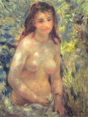 Study For Nude In The Sunlight | Pierre Auguste Renoir | Oil Painting