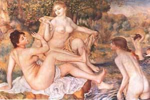 The Bathers | Pierre Auguste Renoir | Oil Painting