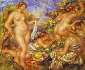 The Bathers1 | Pierre Auguste Renoir | Oil Painting