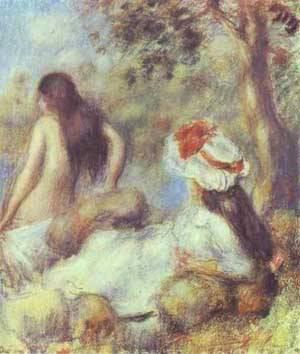 The Bathing | Pierre Auguste Renoir | Oil Painting