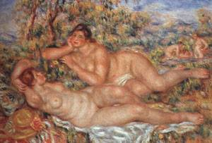 The Great Bathers | Pierre Auguste Renoir | Oil Painting