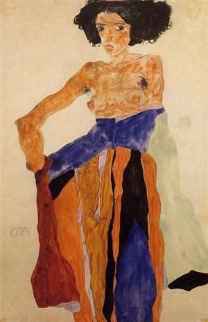 Moa | Egon Schiele | Oil Painting