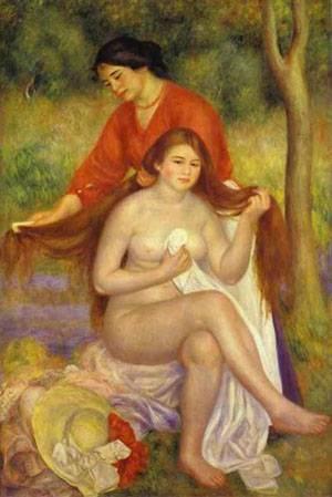 The Toilet | Pierre Auguste Renoir | Oil Painting