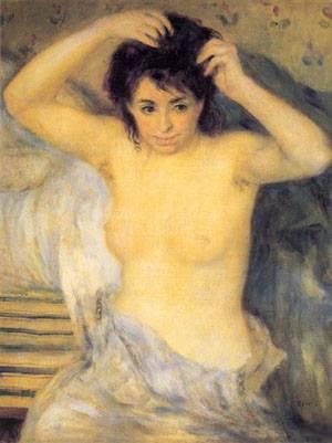 Torso Before The Bath   Pierre Auguste Renoir   Oil Painting