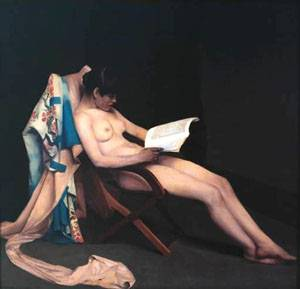 Reading Girl | Roussel Theodore | Oil Painting