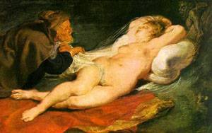 Angelica And The Hermit | Peter Paul Rubens | Oil Painting