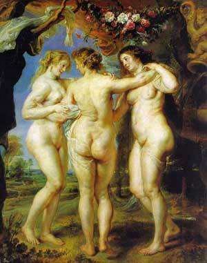 Three Graces | Peter Paul Rubens | Oil Painting
