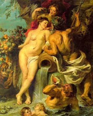 Union Of Earth And Water | Peter Paul Rubens | Oil Painting