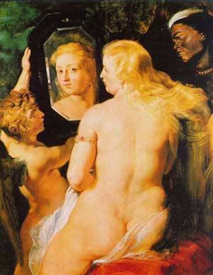 Venus At A Mirror | Peter Paul Rubens | Oil Painting