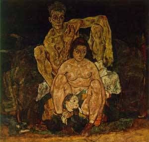The Family | Egon Schiele | Oil Painting