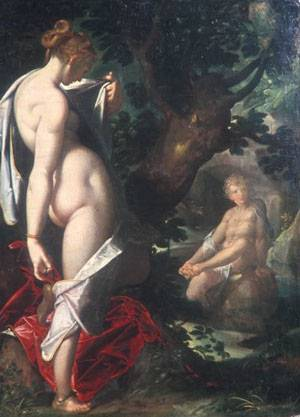 Salmacis And Hermaphroditus | Bartholomaus Spranger | Oil Painting