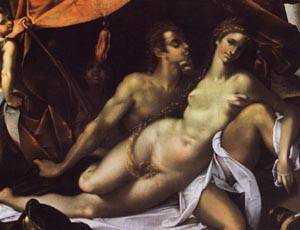 Venus And Adonis1 | Bartholomaus Spranger | Oil Painting