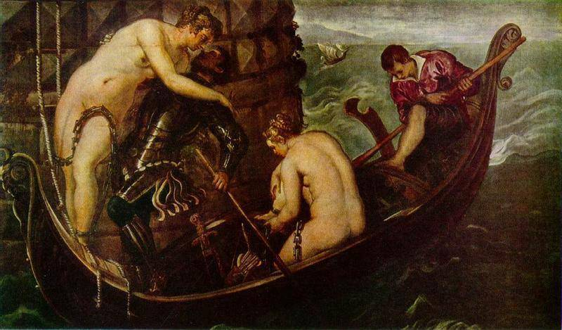 The Deliverance Of Arsinoe | Tintoretto Jacopo Robusti | Oil Painting