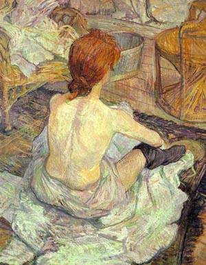 The Toilette | Henri De Toulouse-Lautrec | Oil Painting