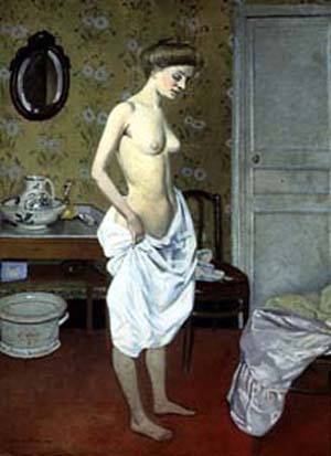 La Toilette | Felix Vallotton | Oil Painting