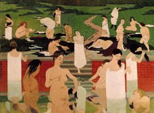 Le Bain Au Soir Dete | Felix Vallotton | Oil Painting