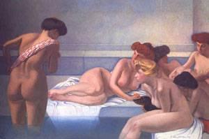 Le Bain Turc | Felix Vallotton | Oil Painting