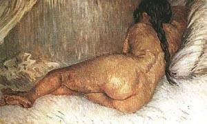 Nude Woman Reclining | Vincent Van Gogh | Oil Painting