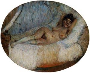 Nude Woman Reclining1 | Vincent Van Gogh | Oil Painting
