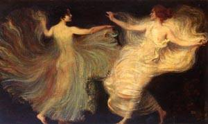 Dancers | Franz Von Stuck | Oil Painting