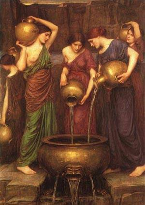 The Danaides | Waterhouse John William | Oil Painting