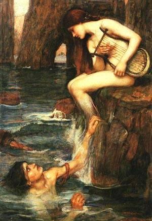 The Siren | Waterhouse John William | Oil Painting