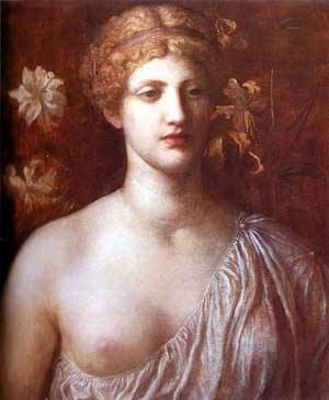 The Wife Of Pygmalion | George Frederick Watts | Oil Painting