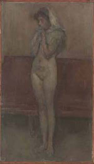 La Cigale | James Abbott Mcneill Whistler | Oil Painting