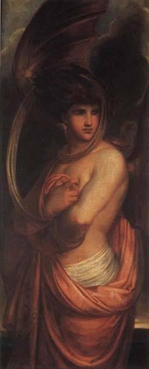 The Angel Of Evil | Antoine Wiertz | Oil Painting