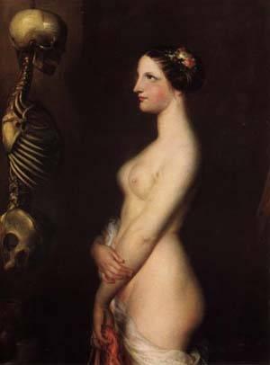The Beautiful Rosine | Antoine Wiertz | Oil Painting