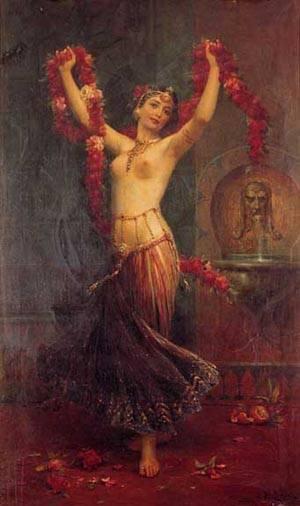 The Harem Dancer | Hans Zatzka | Oil Painting