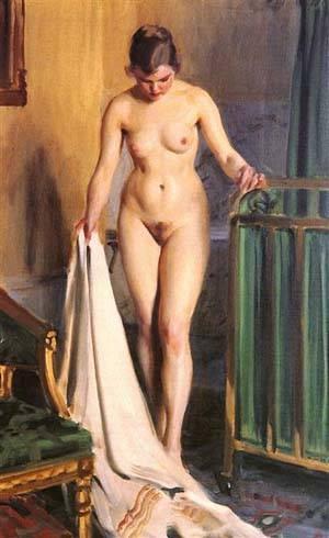 I Sangkammaren | Anders Zorn | Oil Painting
